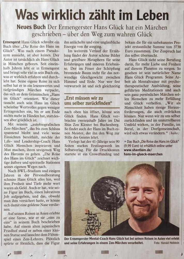 Was wirklich zählt im Leben_Allgäuer Zeitung vom 16.03.2021